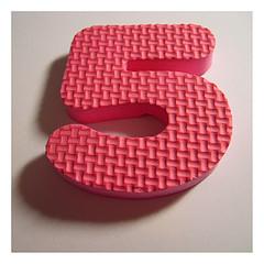 Pink number five
